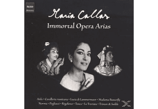 Maria Callas - Immortal Opera Arias - (CD)