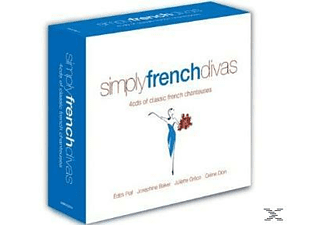 VARIOUS - Simply French Divas - (CD)
