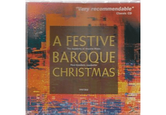 Goodwin & Academy Of Ancient Music - A Festive Baroque Christmas - (CD)