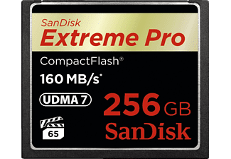 SANDISK Extreme Pro Compact Flash 160 MB/S 256 GB