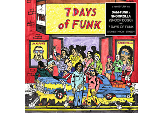 Snoopzilla & Dam Funk - 7 Days Of Funk - (CD)