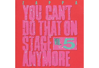 Frank Zappa - You Can't Do That On Stage Anymore Vol.5 (CD)