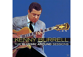 Kenny Burrell - The Bluesin' Around Sessions - (CD)