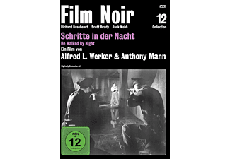 SCHRITTE IN DER NACHT (FILM NOIR COLLECTION 12) [DVD]
