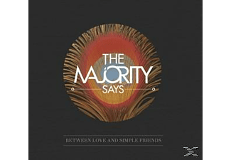 The Majority Says - Between Love And Simple Friends - (Maxi Single CD)