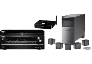 bose 5 1 heimkino system acoustimass 6 onkyo tx sr313. Black Bedroom Furniture Sets. Home Design Ideas