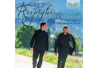 Fabio Paggioro, Massimiliano Ferrati - Violin Sonatas - (CD)