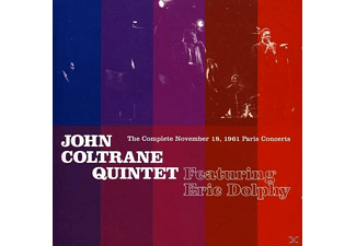 John Coltrane - The Complete November 18, 1961 Paris Concerts (CD)
