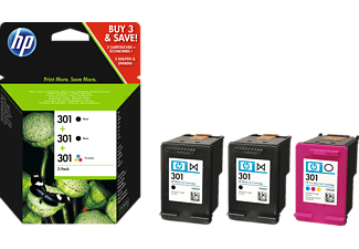 hp 301 ink cartridge patronen multipack saturn. Black Bedroom Furniture Sets. Home Design Ideas