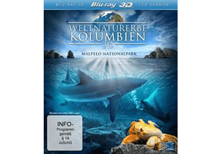 Weltnaturerbe - Kolumbien 3D - (3D Blu-ray)