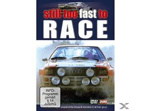 STILL TOO FAST TO RACE - (DVD)