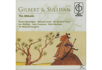 William Schwenk Gilbert, Malcolm Sargent - The Mikado - (CD)