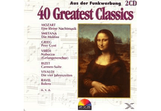 VARIOUS - 40 GREATEST CLASSICS - (CD)