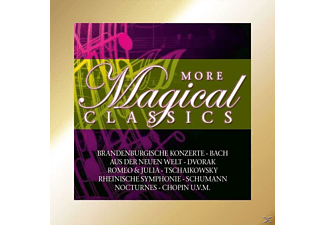 BACH,SCHUMANN,CHOPIN U.V.A. - More Magical Classics - (CD)