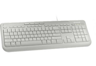 MICROSOFT Wired Keyboard 600 Wit