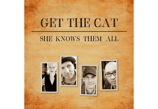 Get The Cat - She Knows Them All - (CD)