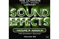 VARIOUS - Sound Effects Vol.2 Nature & Animals [CD]