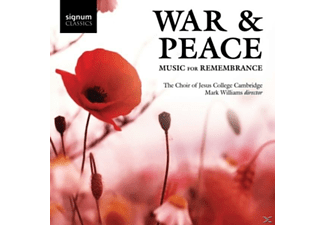 Jesus College Choir - War & Peace/Music For Remembrance - (CD)