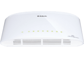 D-LINK 8-Port Gigabit Unmanaged Desktop Switch - (DGS-1008D)