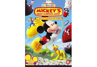 Mickey Mouse Clubhouse - Mickey's Grote Clubhuis Jacht | DVD