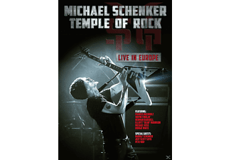 Michael Schenker - Temple Of Rock - Live In Europe - (DVD)