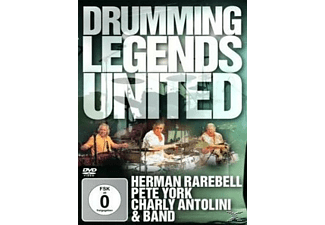 Herman Rarebell, Pete York, Charly Antolini - Drumming Legends United - (DVD)