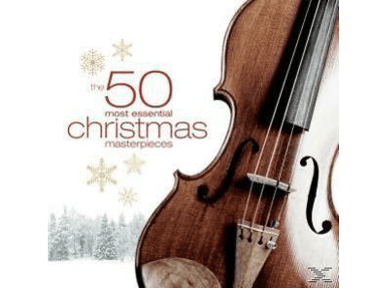 Various - 50 most essential Christmas Masterpieces [CD]