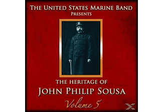 United States Marine Band - Heritage of J.P.Sousa Vol.5 - (CD)