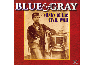VARIOUS - BLUE & GRAY - (CD)