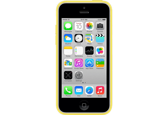 APPLE MF038ZM/A iPhone 5C Silikon Kılıf Sarı