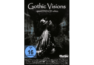 VARIOUS - Gothic Visions - (DVD + CD)