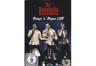 The Baseballs - STRINGS N STRIPES LIVE - (DVD)