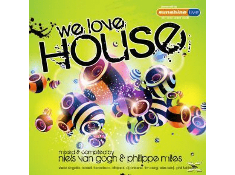 VARIOUS - We Love House [CD]