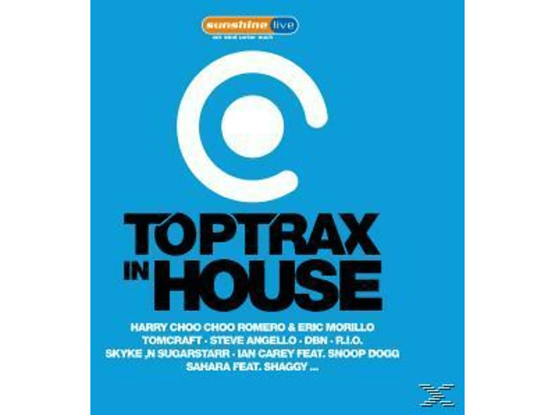 VARIOUS - Toptrax In House [CD]