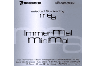 Selected & Mixed By Mea - Immermal Minimal - (CD)
