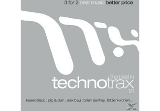 VARIOUS - The Best In Techno Trax - (CD)