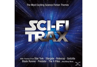VARIOUS - Sci-Fi Trax - The Most Excitin - (CD)
