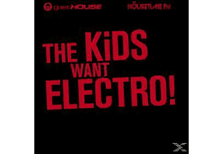 VARIOUS - The Kids Want Electro! - (CD)