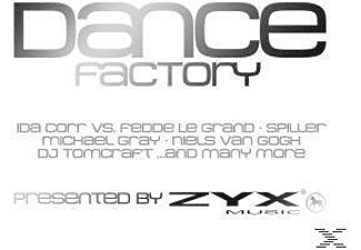 VARIOUS - Dance Factory Pres.By Zyx - (CD)