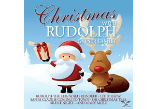 Gypser Family - Christmas With Rudolph - (CD)