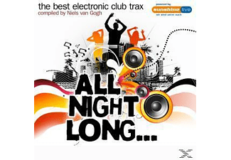 VARIOUS - Best Electronic Club Trax, The: All Night Long - (CD)