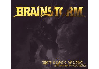 Brainstorm - Just Highs No Lows (12 Years Of Persistence) - (CD)