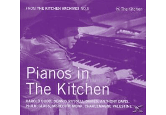 Philip Glass, Meredith Monk, Charlemangne Palestine - From The Kitchen Archives No.5/pian - (CD)