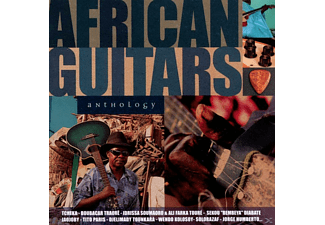 VARIOUS - African Guitars Anthology - (CD)