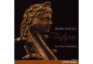 Henry Purcell, Les Voix Humaines - Purcell:Viols Fantasias - (CD)