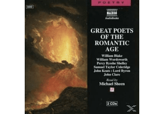GREAT POETS OF THE ROMANTIC AGE - 2 CD - Anthologien/Gedichte/Lyrik