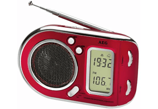 AEG. WE 4125, Radio, FM, AM, SW, Rot