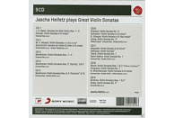 Jascha Heifetz - Jascha Heifetz Plays Sonatas For Violin [CD]