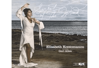 Allen Geri (piano) Kontomanou Elisabeth (vocals), Elisabeth Kontomanou - Secret Of The Wind - (CD)