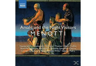 Hawkersmith & Gunlogs, WILLIS/HAWKERSMITH/GUNLOGSON/+ - Amahl And The Night Visitors - (CD)